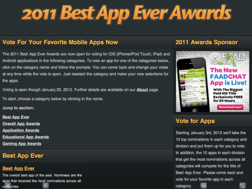 Best App Ever Awards