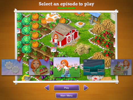 Menu screen my farm life