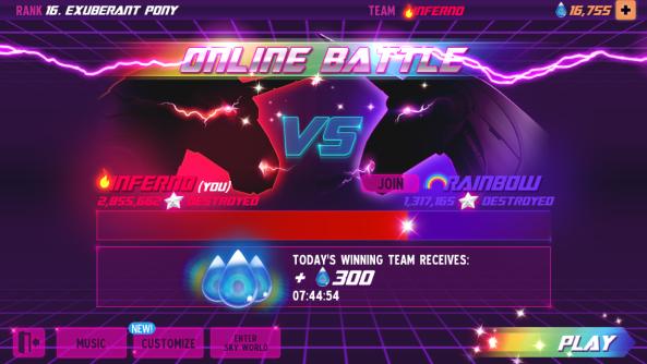 Team Inferno vs Team Unicorn